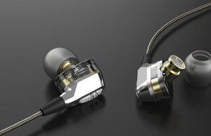Dual Sound Engine Earphones for Hi Fi Lovers