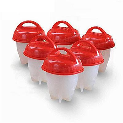 Egglettes 6 Pack - Hard Boiled Egg Cooker