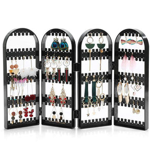 Foldable Earring Organizer Rack