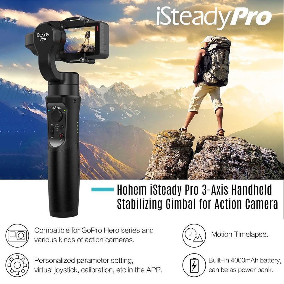 Hohem iSteady Pro – 3-axis Gimbal for Action Cams