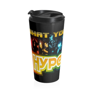 HYPERSPIN Stainless Steel Travel Mug