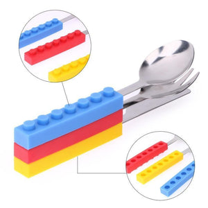 Lego Stainless Steel Dinnerware