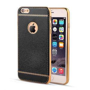 Luxury Leather Case For iPhone Models