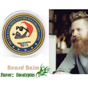Men Beard Moisturizing Wax for Styling