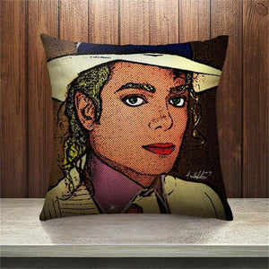 Michael Jackson Pillow Cover