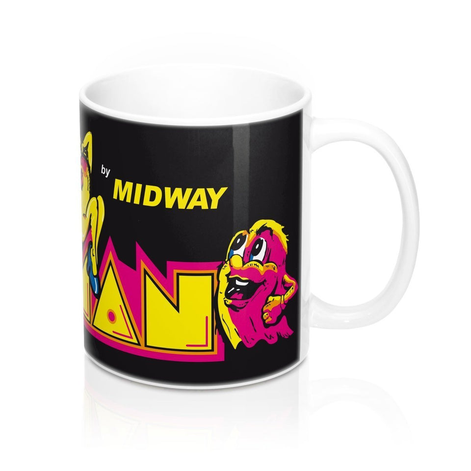 MS PAC MAN MUG