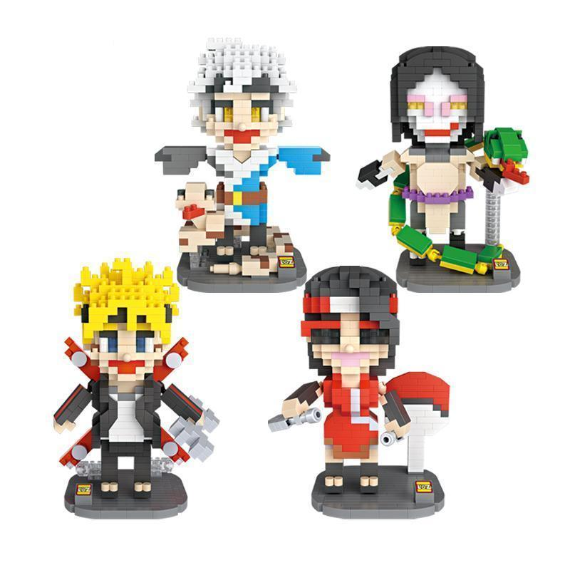 Naruto Action Figure Building Blocks