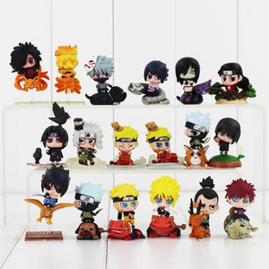 Naruto Figures 6 Pcs Set