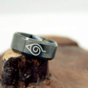 Naruto Ring Stainless Steel