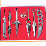 Naruto Weapons Toys 7 Pcs Set
