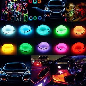 Neon Light Car Decoration