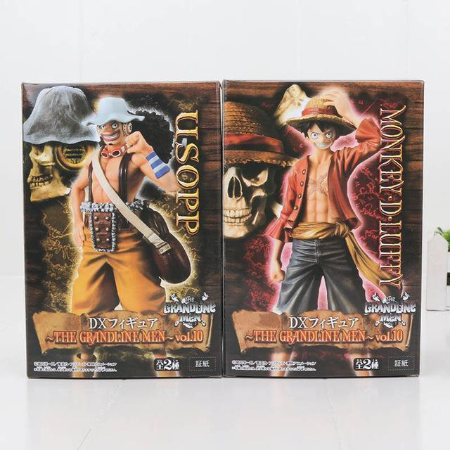 One Piece Luffy + Ace 2 Pcs Set 17cm