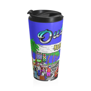 OUTRUN Stainless Steel Travel Mug