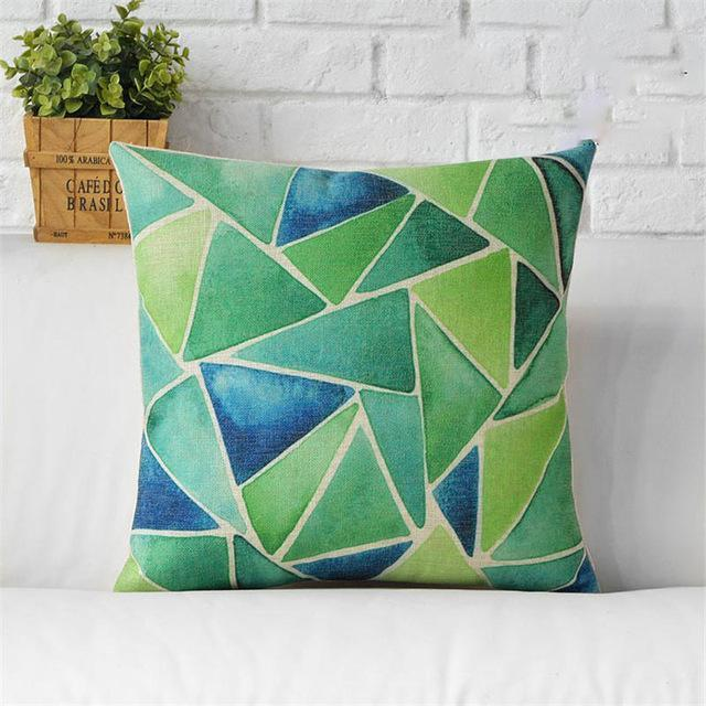 Rain Forest Pillow Cover