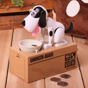 Robotic Dog Bank Money Box