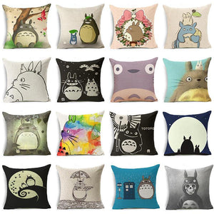 Totoro Pillow Cover
