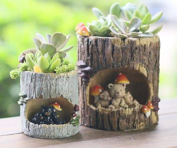 Tree Hole Planter