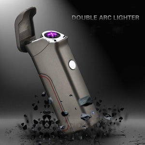 USB Charge Windproof Electronic Cigarette Lighter