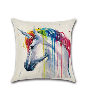 Wildlife Painting Pillow Cover