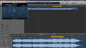 Tuning Audio In Logic Pro X