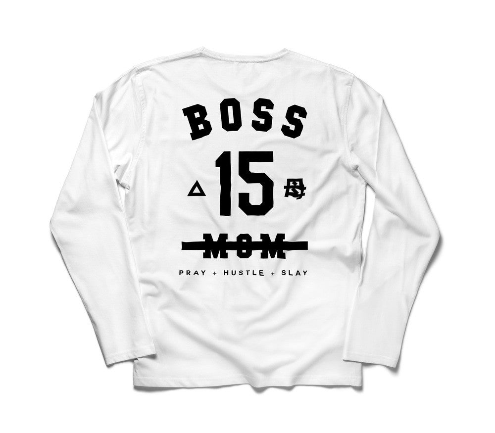 NOT JUST A MOM I'M THE BOSS - Bossmombyshamekia