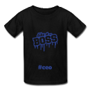 Boys Boss Kid Ceo T-shirt - Bossmombyshamekia