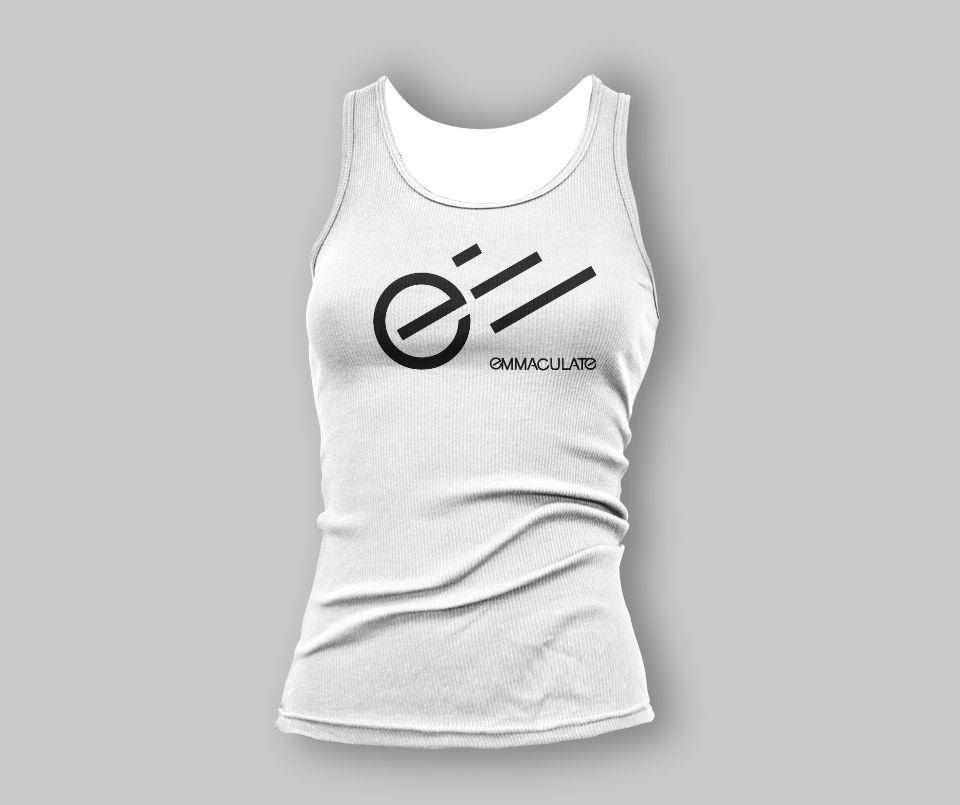 Women's Emmaculate White Tank Top