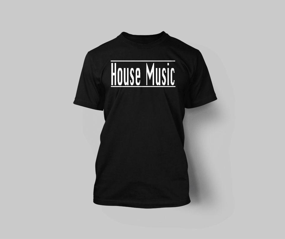 Men's House Music T-Shirt