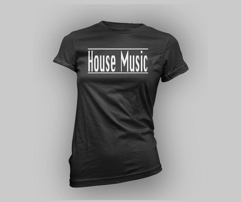 Women's House Music Tee