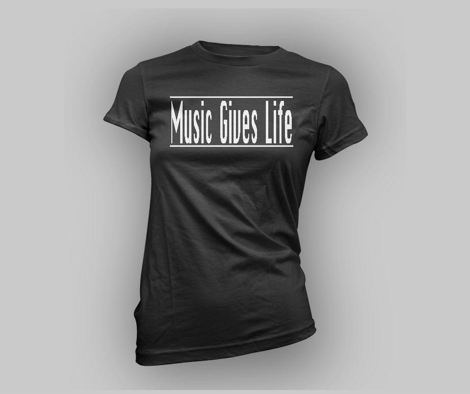 Women's Music Gives Life Tee