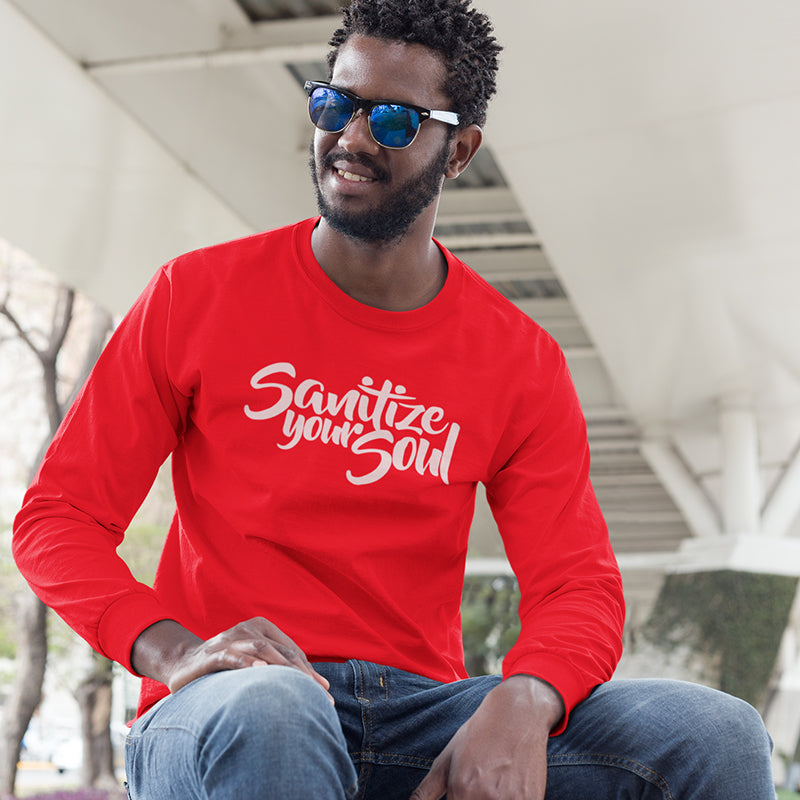 Men's Sanitize Your Soul Long Sleeve T-Shirt