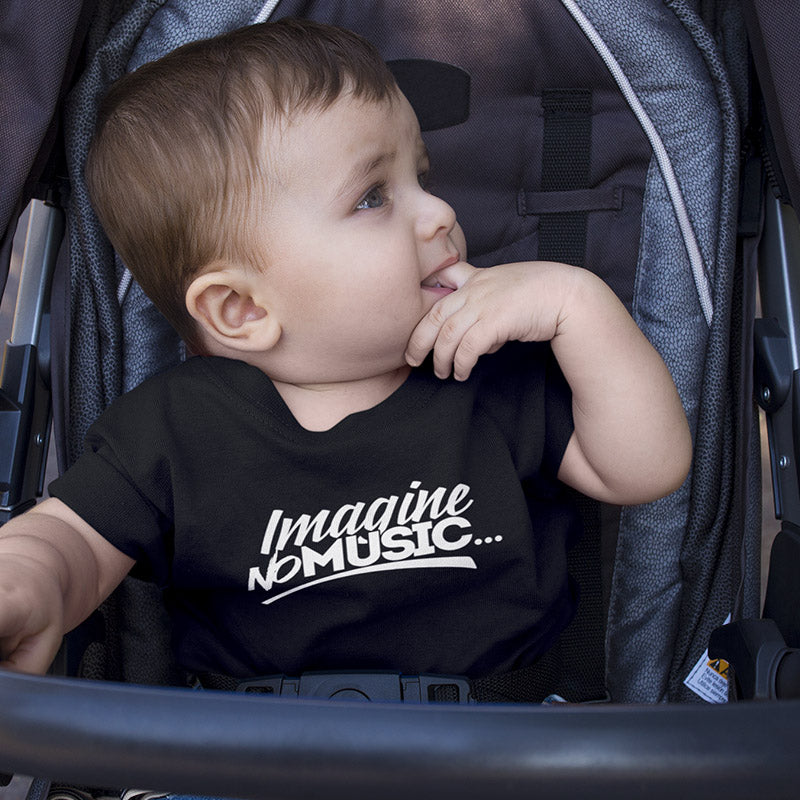 Toddler Imagine No Music T-Shirt