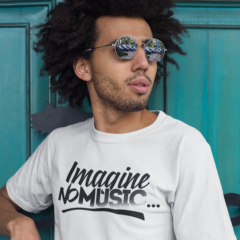 Men's Imagine No Music T-Shirt