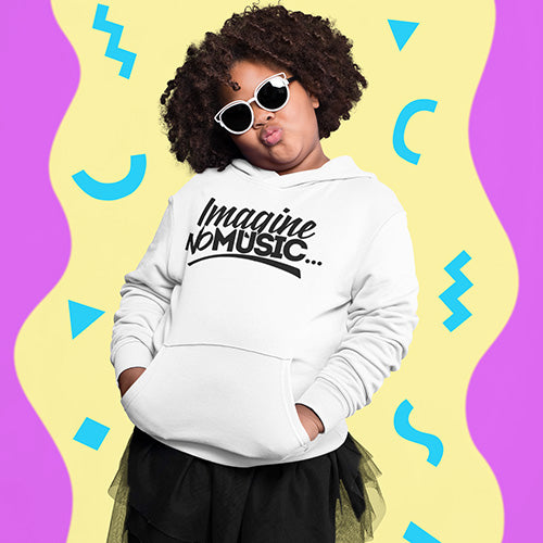 Youth Imagine No Music Hoodie