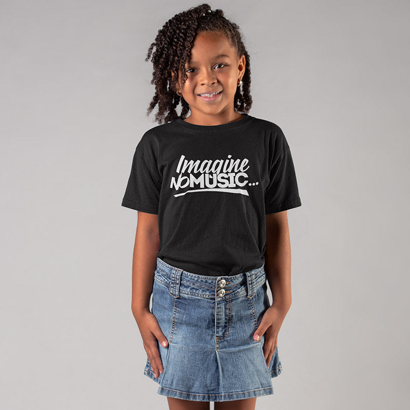 Youth Imagine No Music T-Shirt