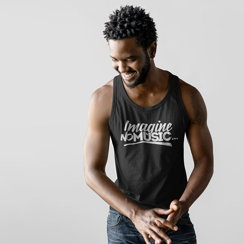 Men's Imagine No Music Tank Top