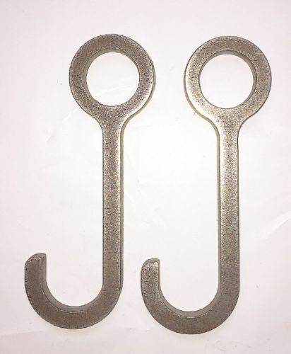 "6"" Target Hanger Hooks for Pipe Set of 2"