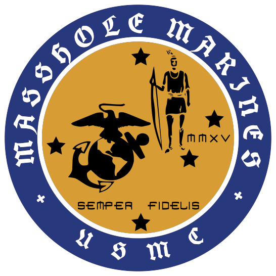 Masshole Marines Sticker