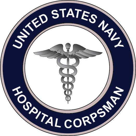 Navy Hospital Corpsman Sticker