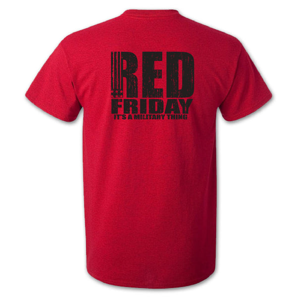 red friday tshirt