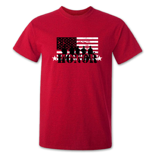 Red Friday Honor T-shirt - corpsman-up.myshopify.com