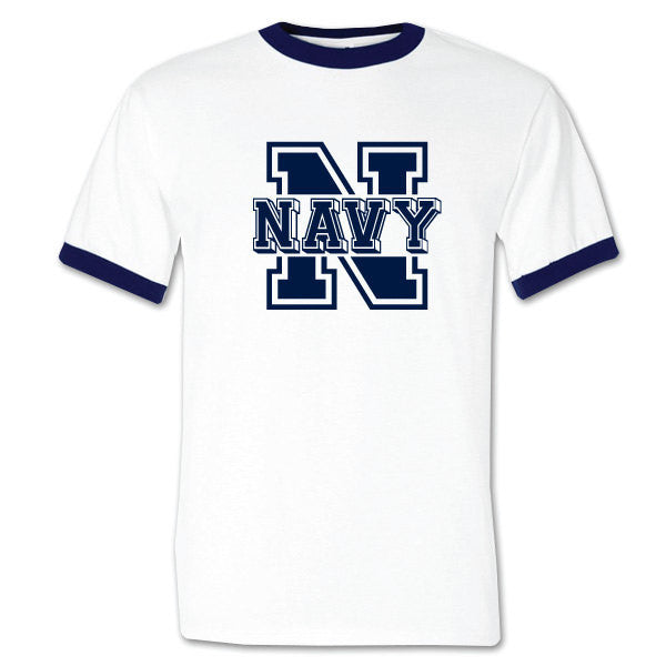 us navy retro bootcamp tshirt
