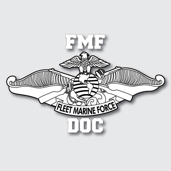 FMF Doc sticker