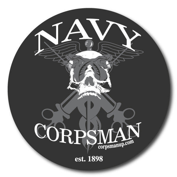 navy corpsman syringe sticker