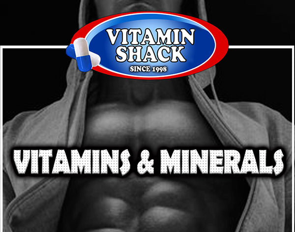 Vitamin and Minerals at Vitamin Shack. Lowest prices for Vitamins at vitaminshack.com
