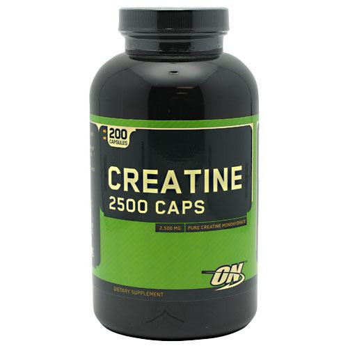 Optimum Nutrition Creatine 2500 Caps - 200 Capsules - 748927021349