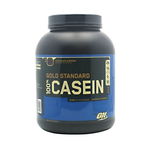 Optimum Nutrition Gold Standard 100% Casein - Chocolate Supreme - 4 lb - 748927024227