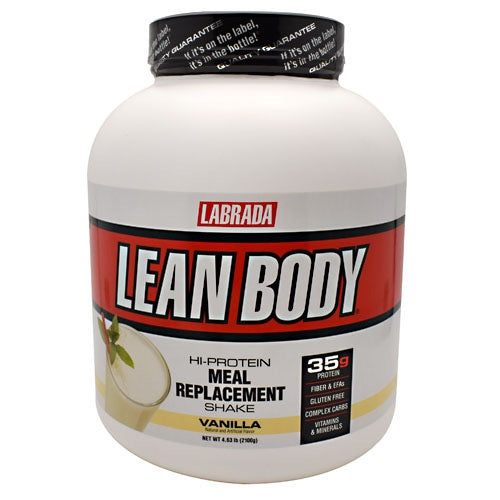 Labrada Nutrition Lean Body Lean Body - Vanilla - 30 Servings - 710779113466