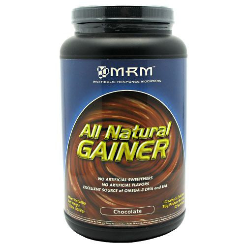 MRM All Natural Gainer - Chocolate - 3.3 lb - 609492730046