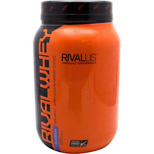 Rivalus Rival Whey - Blueberry - 2 lbs - 807156002557